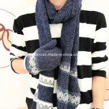 Ashion ha lavorato a maglia la sciarpa con i guanti di inverno del &Glove del &Hat, insieme del guanto della sciarpa del cappello