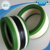 PU+POM V- Verpakking met Stof of Rubber