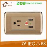 5V 2.1A Us USB Wall Socket and Plug