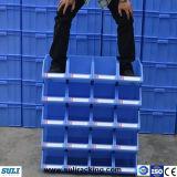 Escaninhos Stackable plásticos da prateleira do armazenamento do armazém/peças sobresselentes dos escaninhos