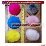 Promozione chiave Keychain (G8022) della pelliccia del coniglio del compratore del supporto di Yiwu Cina