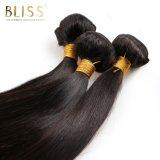 Zwarte Kleur van het Weefsel van het Haar van het Menselijke Haar van 100% de Maagdelijke Maleise
