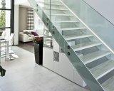 Villar Diseño Moderno L Escalera de Forma Escalera de Vidrio Escalera Flotante de Escalera de Madera Sólida
