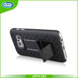 Cas hybride de téléphone mobile de Kickstand de PC de l'arrivée neuve TPU pour le bord S8 de Samsung S8 S8 plus