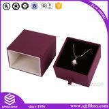 ペーパー革木製のギフトの包装の高品質の宝石箱