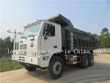 Carros de vaciado de China HOWO 60t, volquete de la mina de carbón