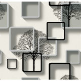 El PVC impermeable 3D Wallpapers la decoración casera