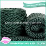 Lenço de confeção de malhas feito sob encomenda longo do Crochet da caxemira do poliéster das mulheres