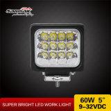 5 '' luz campo a través del trabajo del CREE LED de 60W IP68