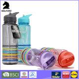 Бутылка воды полосы силикона высокого качества 750ml