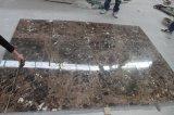 De Natuurlijke die Steen van het Bouwmateriaal van China Aan Emperador van de Grootte de Donkere Marmeren Tegel van de Muur voor Badkamers/Vloer/Countertop wordt gesneden