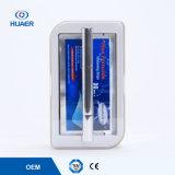 Dents blanchissant des dents de crayon lecteur et de bande blanchissant le nécessaire