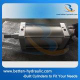 Cutsom 표준과 비표준 압축 공기를 넣은 피스톤 실린더
