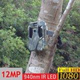 完全なHD 1080P 12MP 940nm IRの小型動物の監視のシカハンチングカメラ