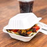 Контейнер еды багассы сахарныйа тростник Biodegradable бумажный