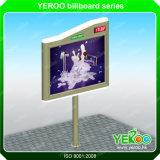 Openlucht Backlit Billboard met LED Clock