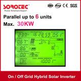 invertitore solare ibrido di griglia inserita/disinserita con conservazione dell'energia