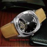 Reloj mecánico hermoso para los hombres con la venda de cuero Fs451 de Gunine