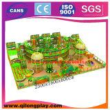 Cour de jeu d'intérieur de matériel de parc d'attractions grande pour des enfants