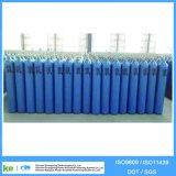 Cylindre de gaz de CO2 d'hélium d'argon d'hydrogène de l'oxygène d'acier sans joint (ISO9809 /GB5099)