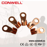 10A-1000A Vis Nose Open Copper Ring Cable Lug