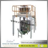Máquina de embalagem vertical automática Nuts Roasted, orgânica do selo da suficiência do formulário