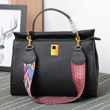 숙녀 Emg4783를 위한 최신유행 다채로운 결박 형식 가죽 디자이너 핸드백