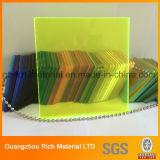 Strato acrilico di plastica del perspex dello strato PMMA del getto per la decorazione