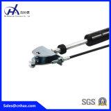 Minischwarzer verschließbarer Stahlgasdruckdämpfer, der Gas-Holm für Luft-Zustand mit U-Form Verbinder sperrt, um SGS-Standard zu entsprechen