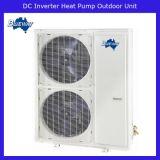 Riscaldatore di acqua della pompa termica dell'invertitore di CC di sorgente di aria - spaccatura