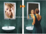 غرفة حمّام جدار يعلى جسم محسّ سحريّة مرآة [لد] [ليغت بوإكس]