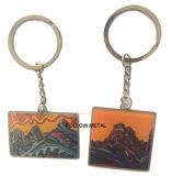 山のロゴの昇進のカスタム金属Keychain