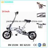 CE 14-Inch 1 segundo que dobra a bicicleta/bicicleta elétricas