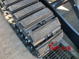 L'excavatrice Hxp300 complète les garnitures en caoutchouc