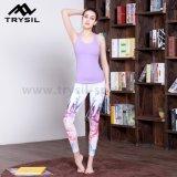 Bunte gedruckte späteste Form-Yoga Legging Frauen-Eignung-lange Hosen