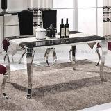 6 de Eettafel van het Frame van het Metaal van de Lijst van de Steen Seater