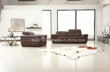 Sofá moderno del cuero de la tapa de los muebles (SBO-3998)