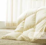 Da tampa 100% do branco do ganso Comforter de seda para baixo
