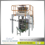 自動微粒、Multiheadの計重機が付いている穀物のパッキング機械