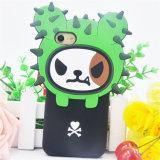 Koreanische nette Silikon-Telefon-Großhandelskästen des Kaktus-3D