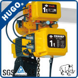 Grua Chain elétrica nova portátil por atacado de 1 tonelada