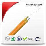 12 núcleo de la fibra óptica por cable Multi Propósito rotura de fibra óptica por cable subterráneo