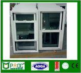 Único indicador pendurado de alumínio de vidro dobro com projeto Pnoc0082shw da grade
