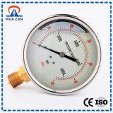 ماء/[أير برسّور] مقياس ممون [مولتيفونكأيشن] ضغطة مقياس مع زيت - يملأ