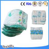 Tecido descartável do bebê do algodão da boa qualidade com absorção elevada