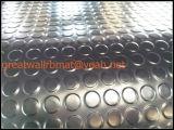 Самая лучшая продавая циновка резины кнопки Великой Китайской Стены плотная круглая