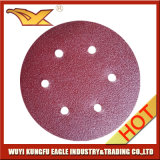 9 인치 - 고품질 벨크로 모래로 덮는 디스크 (알루미늄 산화물)
