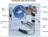 ピストン・ポンプを搭載する空気のないペンキの噴霧装置