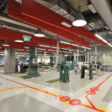 Il rifornimento della fabbrica progetta l'autoadesivo per il cliente decorativo del pavimento del PVC della casa di stampa