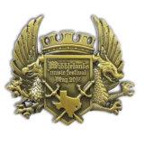 Pin su ordinazione del risvolto del distintivo di Pin del bronzo dell'oggetto d'antiquariato del pezzo fuso